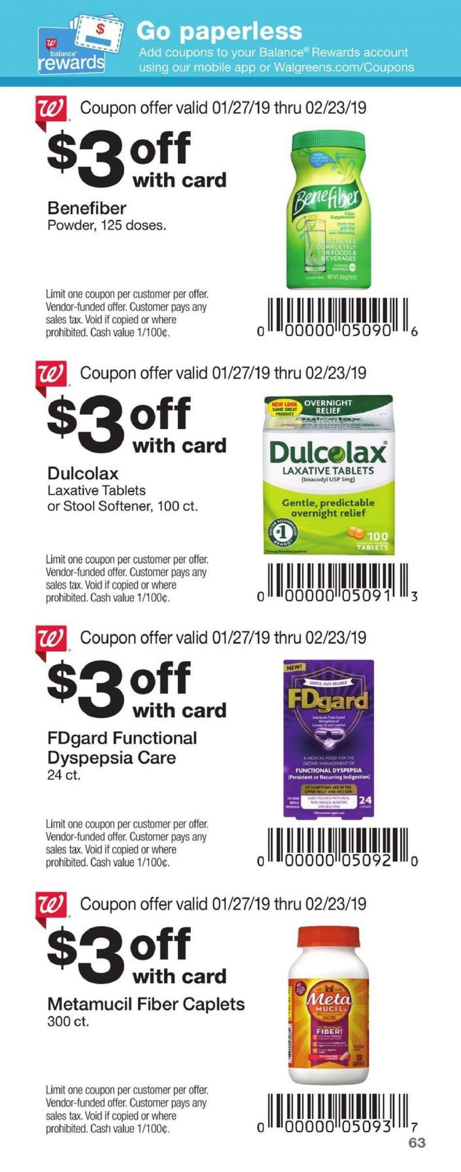 Current Walgreens Flyer 01272019 02232019 Weekly Adsus