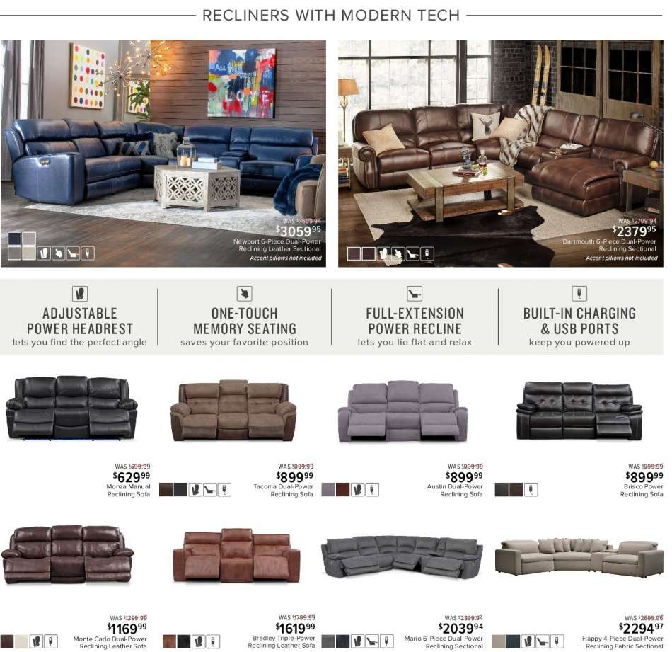 Enjoyable Value City Furniture Flyer 02 12 2019 02 25 2019 Weekly Pdpeps Interior Chair Design Pdpepsorg