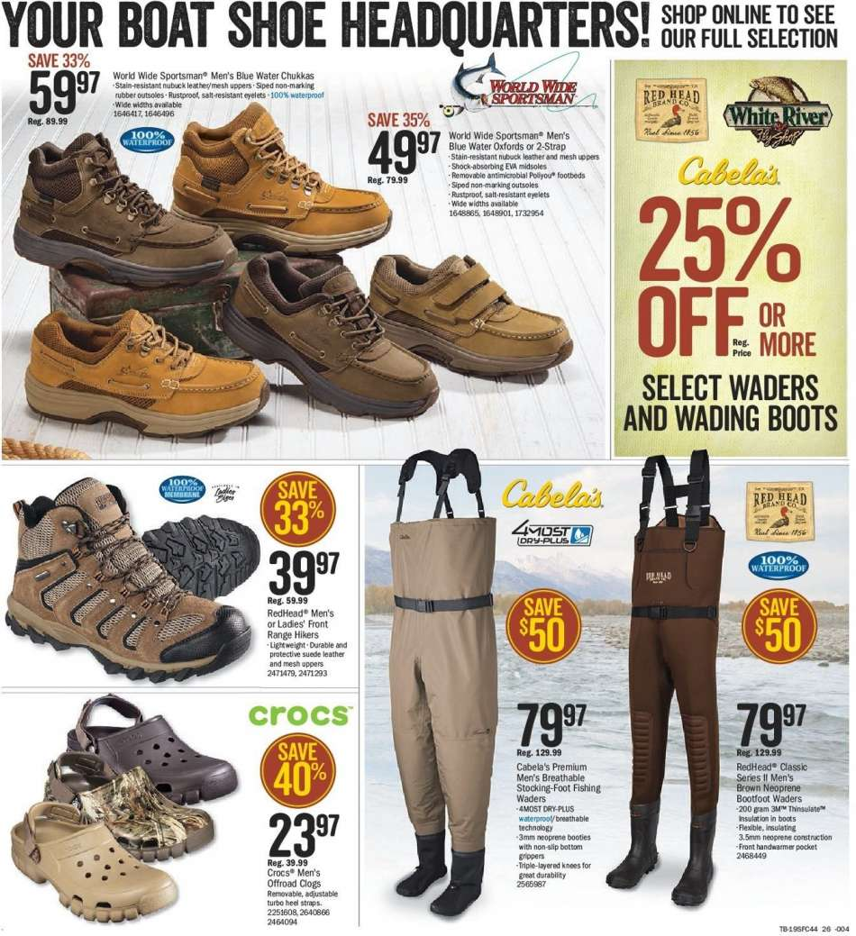 6ee6523ba7a2 Bass Pro Shops Flyer - 02.15.2019 - 03.03.2019 - Sales products -