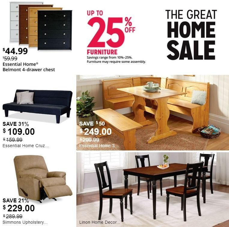 Kmart Flyer - 02.17.2019 - 03.02.2019 - Sales products - drawer, furniture, simmons. Page 4.