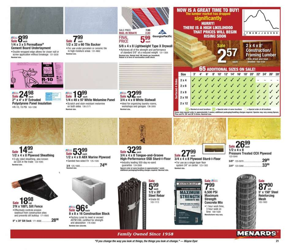 Menards flyer 02 17 2019 - 02 23 2019 | Weekly-ads us