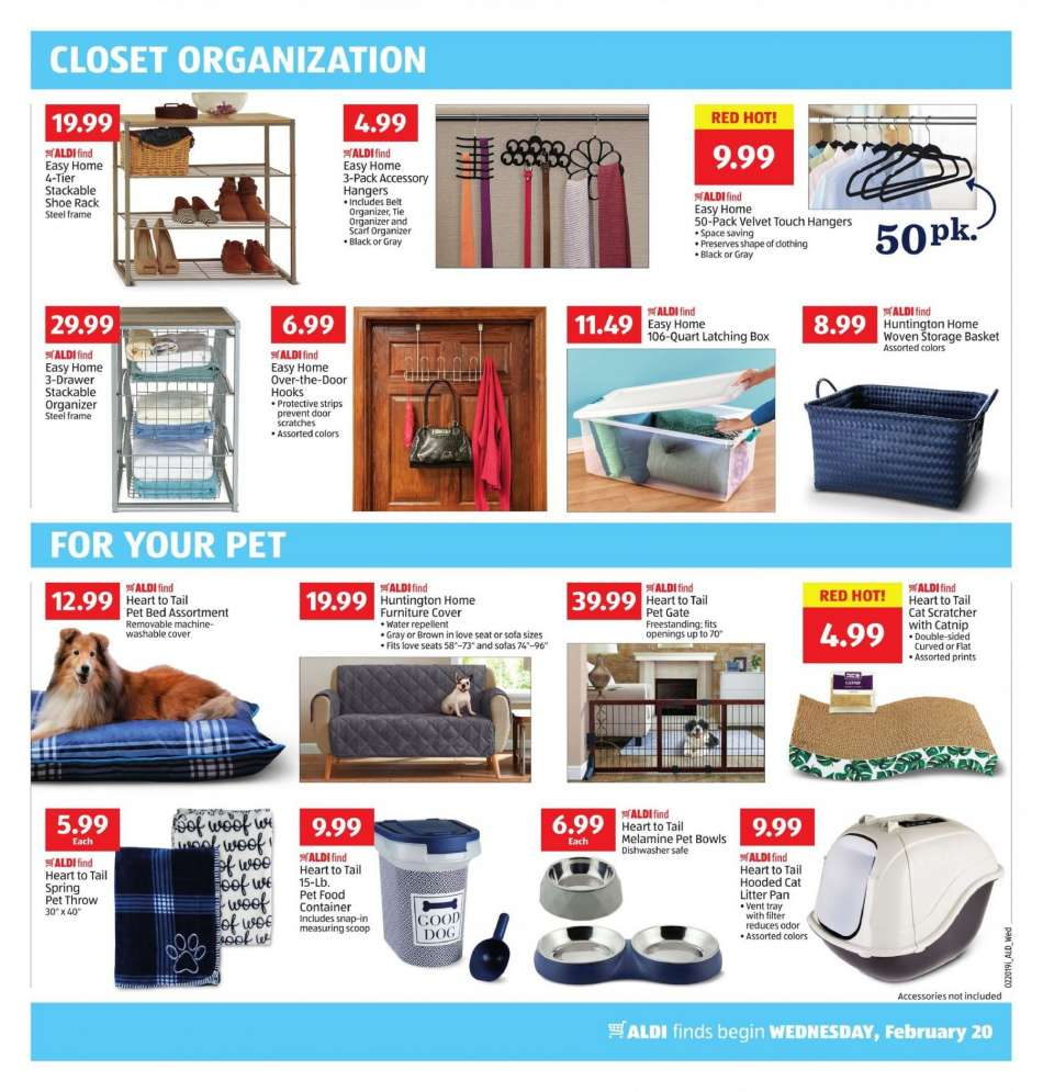 Aldi Flyer 02 20 2019 02 26 2019 Weekly Ads