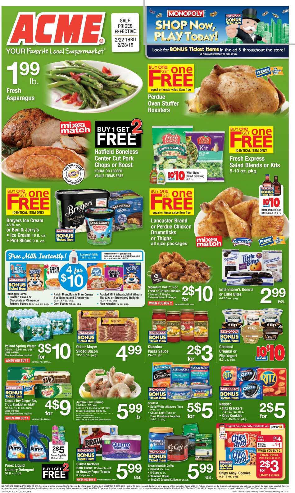 ACME flyer 02 22 2019 - 02 28 2019 | Weekly-ads us