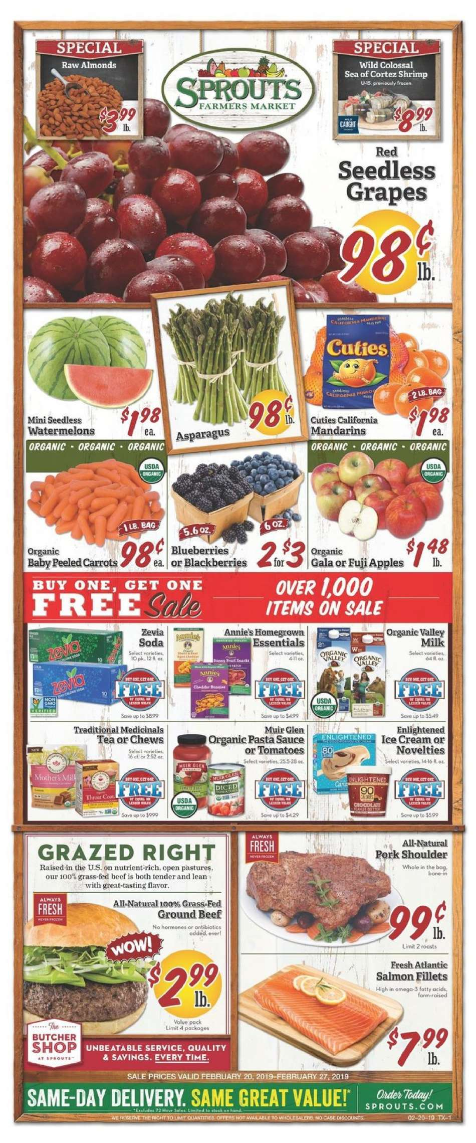 Sprouts flyer 02 20 2019 - 02 27 2019   Weekly-ads us