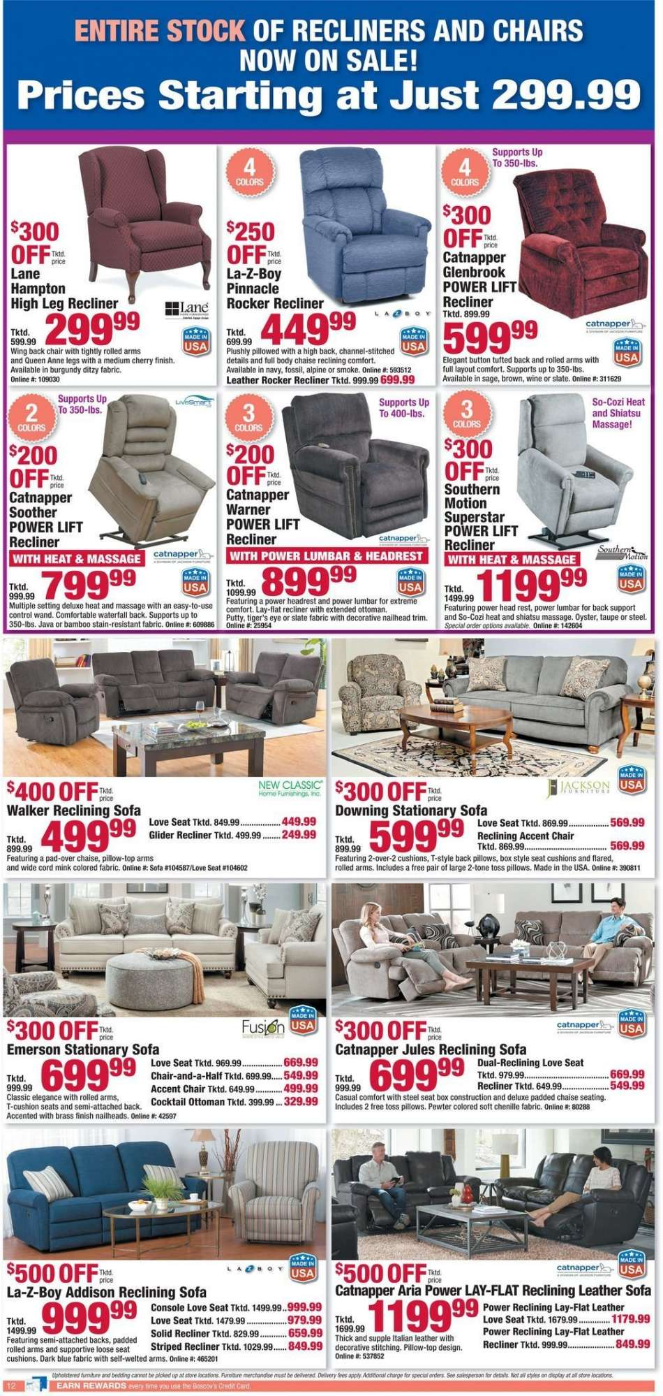 Enjoyable Boscovs Flyer 02 24 2019 03 03 2019 Weekly Ads Us Gmtry Best Dining Table And Chair Ideas Images Gmtryco