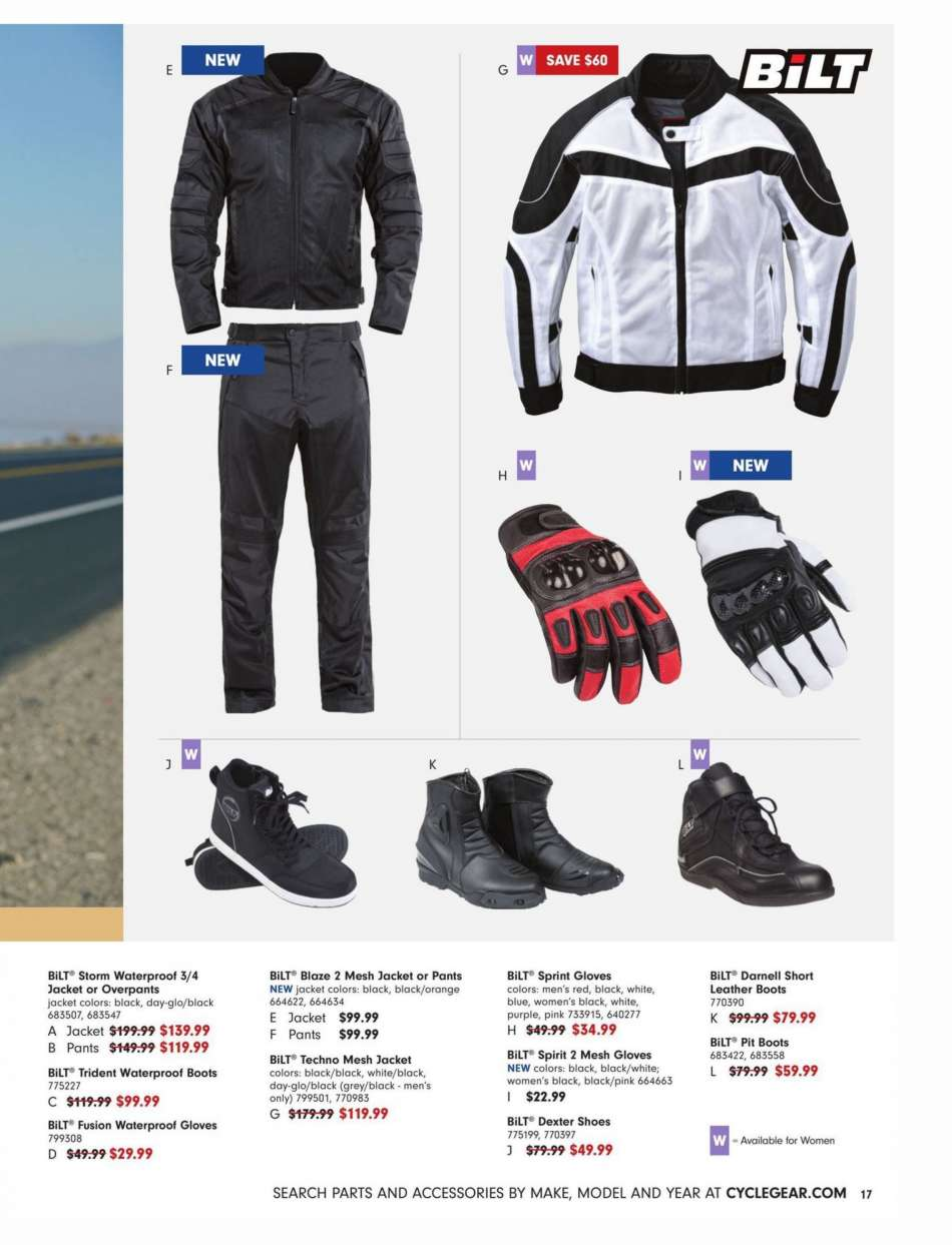 f36cbdbd0c Cycle Gear Flyer - 02.19.2019 - 03.24.2019 - Sales products - boots