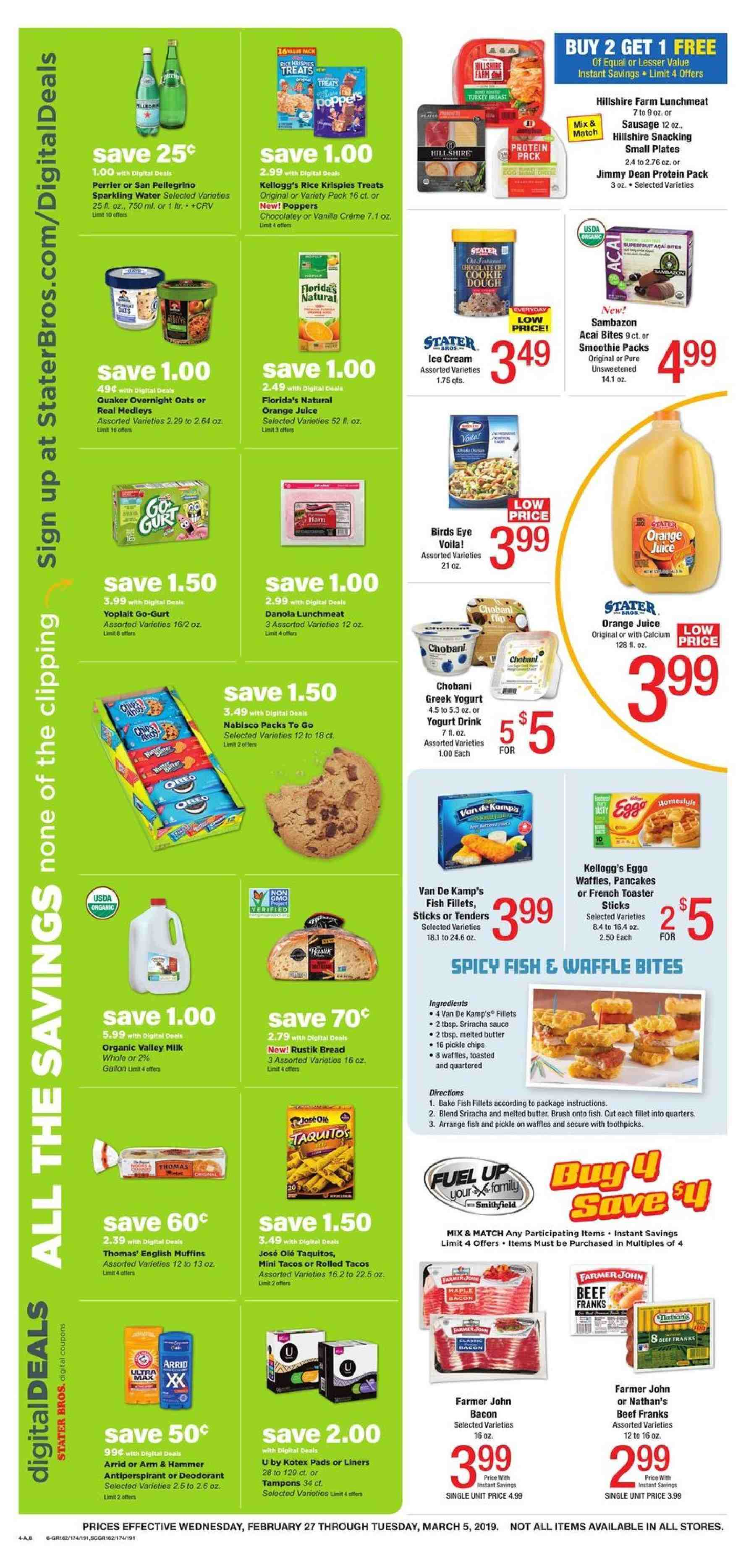 Stater Bros Flyer 02 27 2019 03 05 2019 Page 4 Weekly Ads