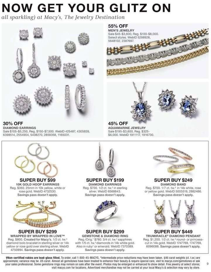 657bd2b65d3 Macy's Flyer - 02.28.2019 - 03.03.2019 - Sales products - band,