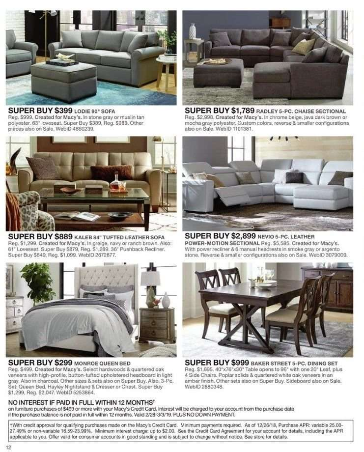 Admirable Macys Flyer 02 28 2019 03 03 2019 Weekly Ads Us Alphanode Cool Chair Designs And Ideas Alphanodeonline