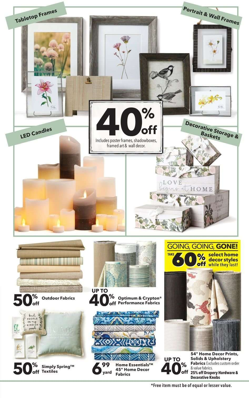 Current Jo Ann Flyer 02 28 2019 03 13 2019 Weekly Ads Us