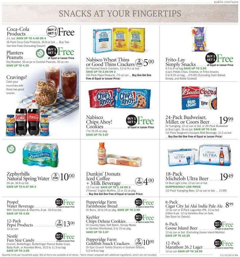 Publix flyer 02 28 2019 - 03 06 2019 | Weekly-ads us