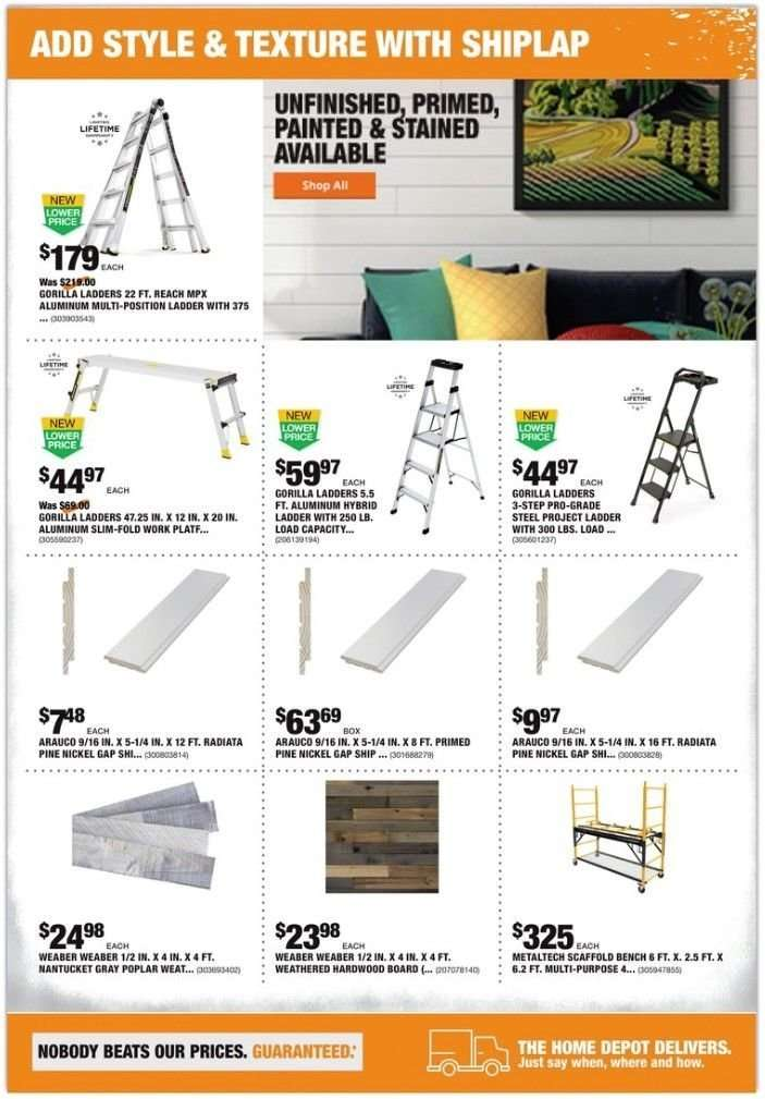 The Home Depot flyer 02 28 2019 - 03 11 2019 | Weekly-ads us