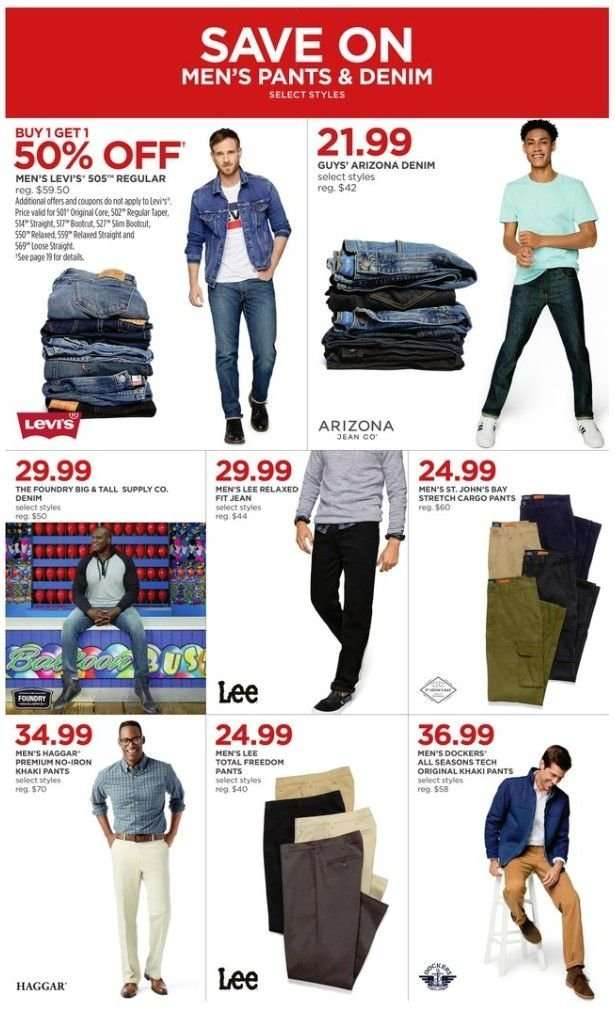 3b047e0e18c JCPenney Flyer - 02.28.2019 - 03.03.2019 - Sales products - cargo pants