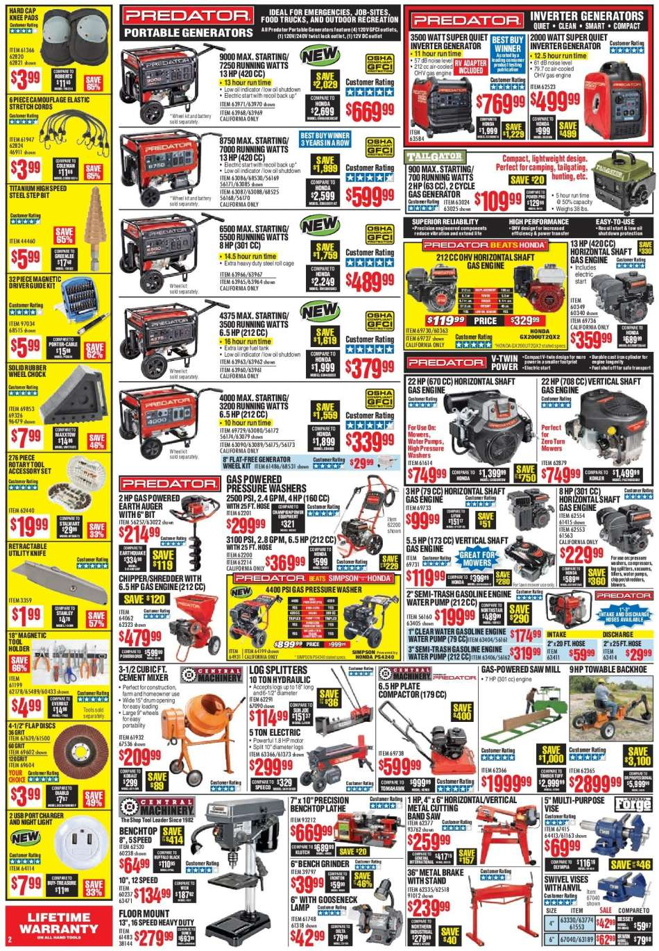 Harbor Freight flyer 03 01 2019 - 03 31 2019 | Weekly-ads us