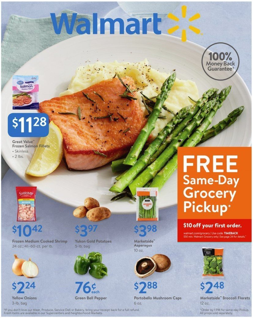 Walmart Flyer  - 03.01.2019 - 03.16.2019. Page 1.
