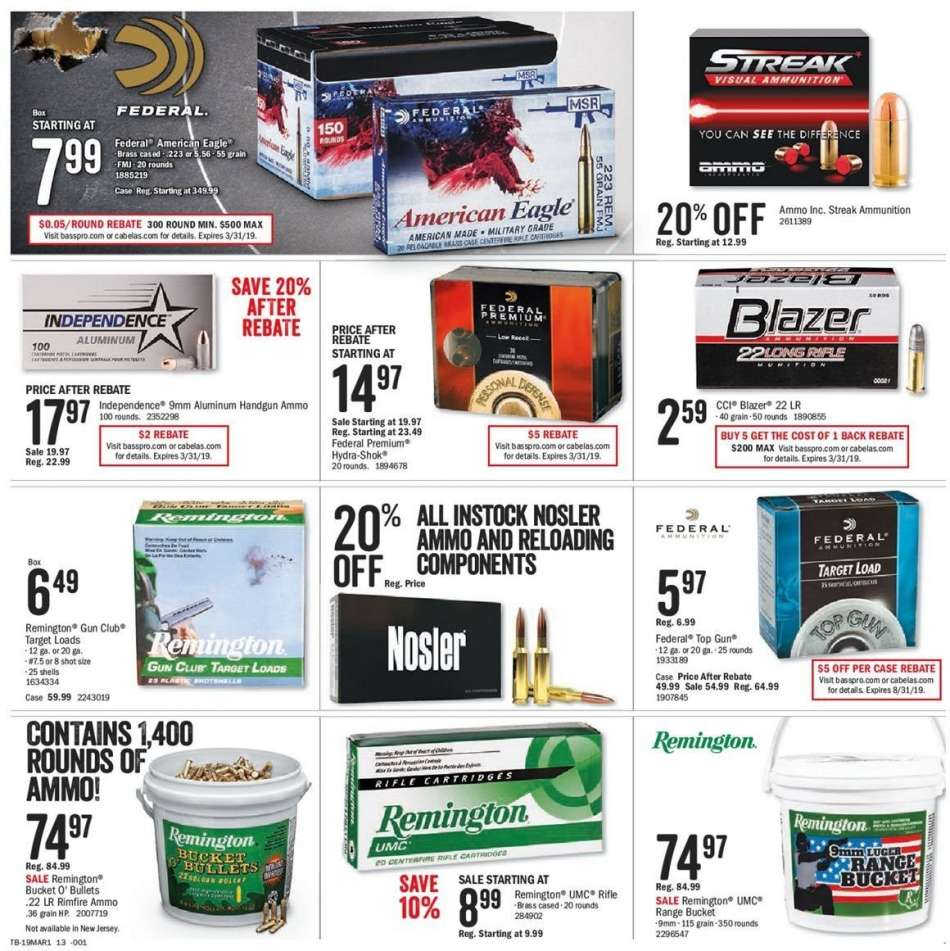 Bass Pro Shops flyer 03 04 2019 - 03 17 2019 | Weekly-ads us
