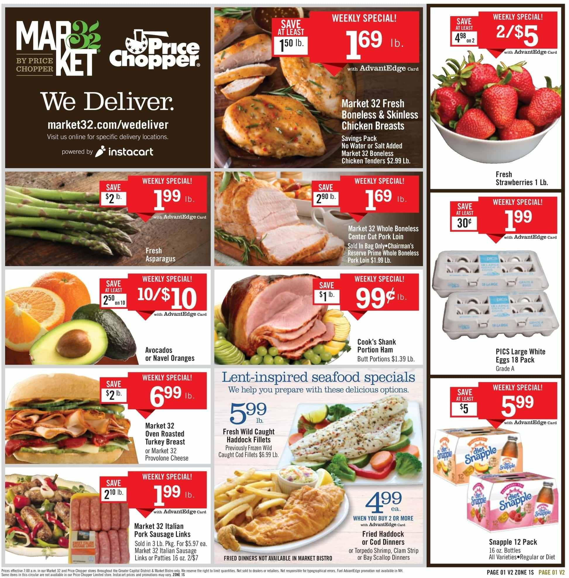Price Chopper Flyer  - 03.03.2019 - 03.09.2019. Page 1.