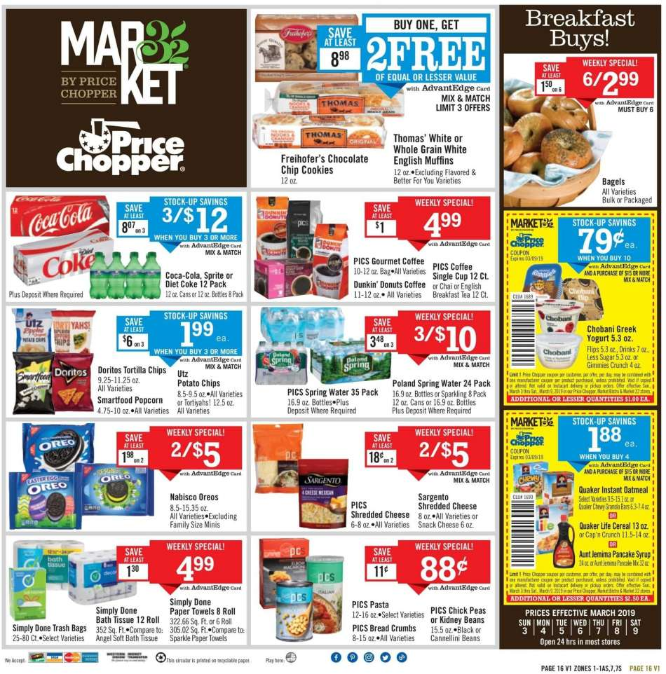 Price Chopper flyer 03 03 2019 - 03 09 2019 | Weekly-ads us