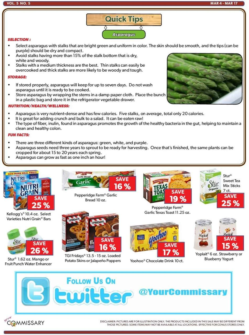 Commissary flyer 03 04 2019 - 03 17 2019 | Weekly-ads us
