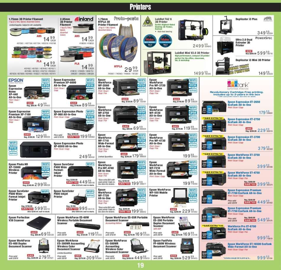 Micro Center flyer 03 04 2019 - 03 17 2019 | Weekly-ads us