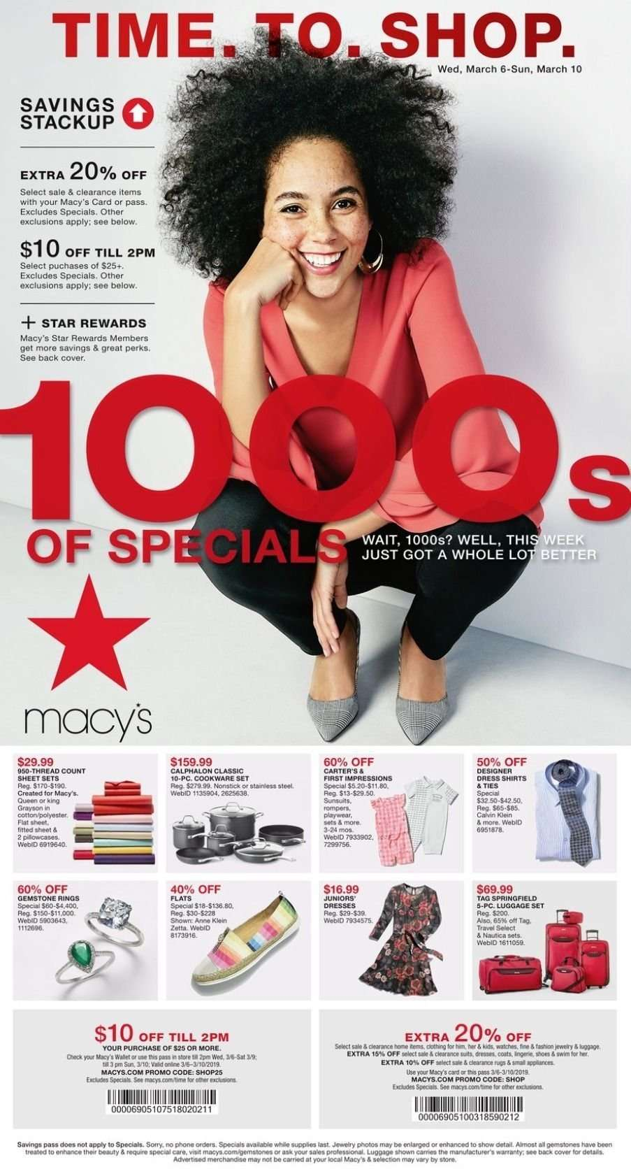 Macy S Flyer 03 06 2019 03 10 2019 Weekly Ads Us