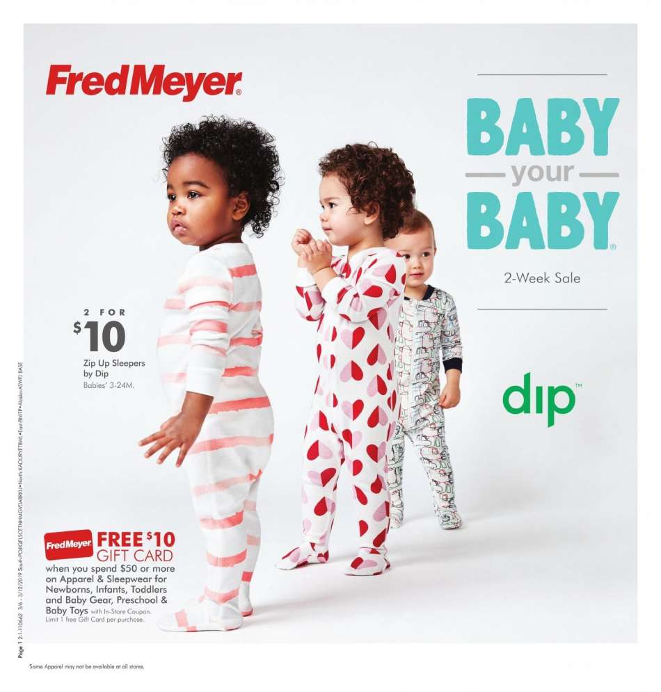 Fred Meyer flyer 03 06 2019 - 03 19 2019 | Weekly-ads us