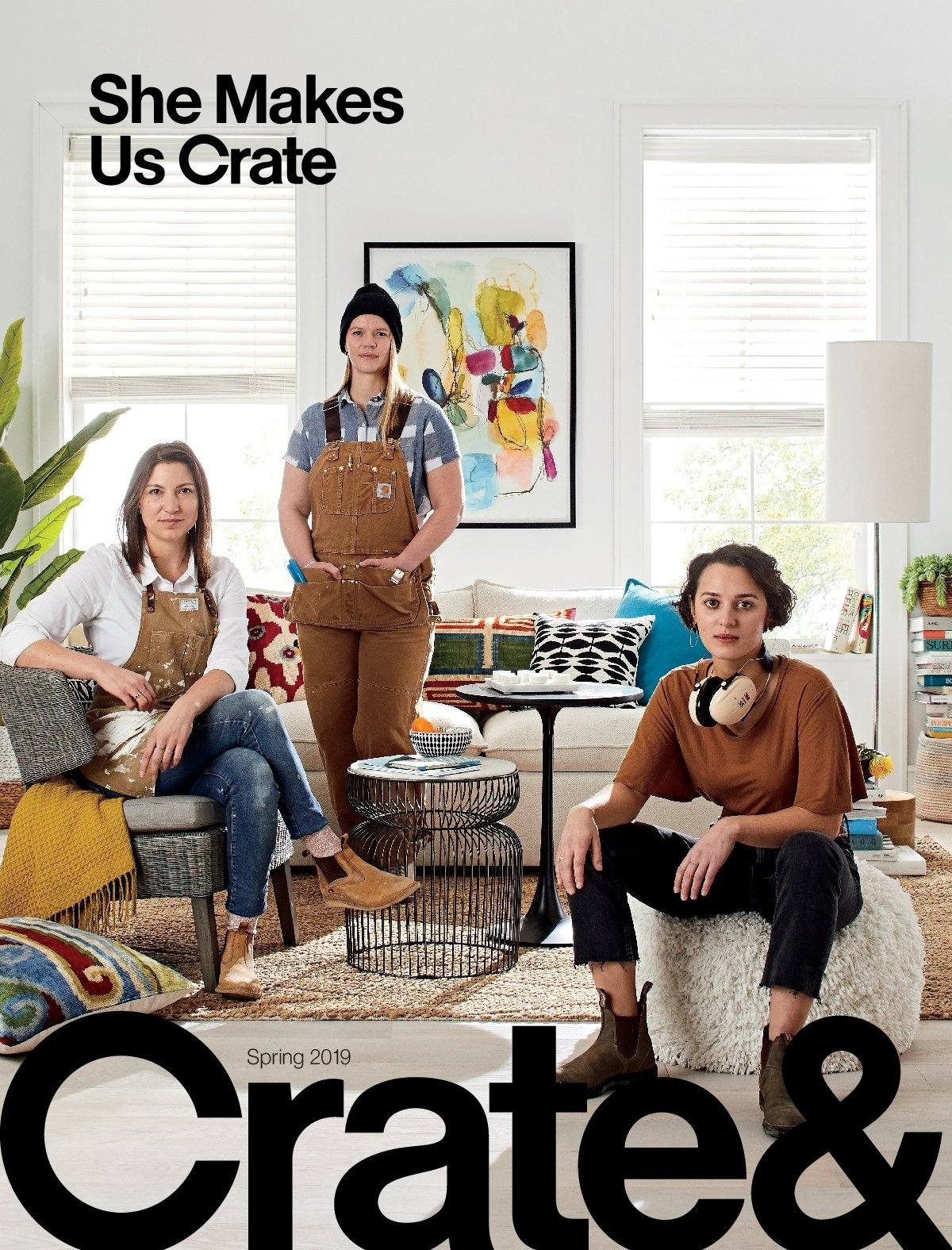 Crate & Barrel Flyer - 03.01.2019 - 03.31.2019 - Sales products - crate. Page 1.