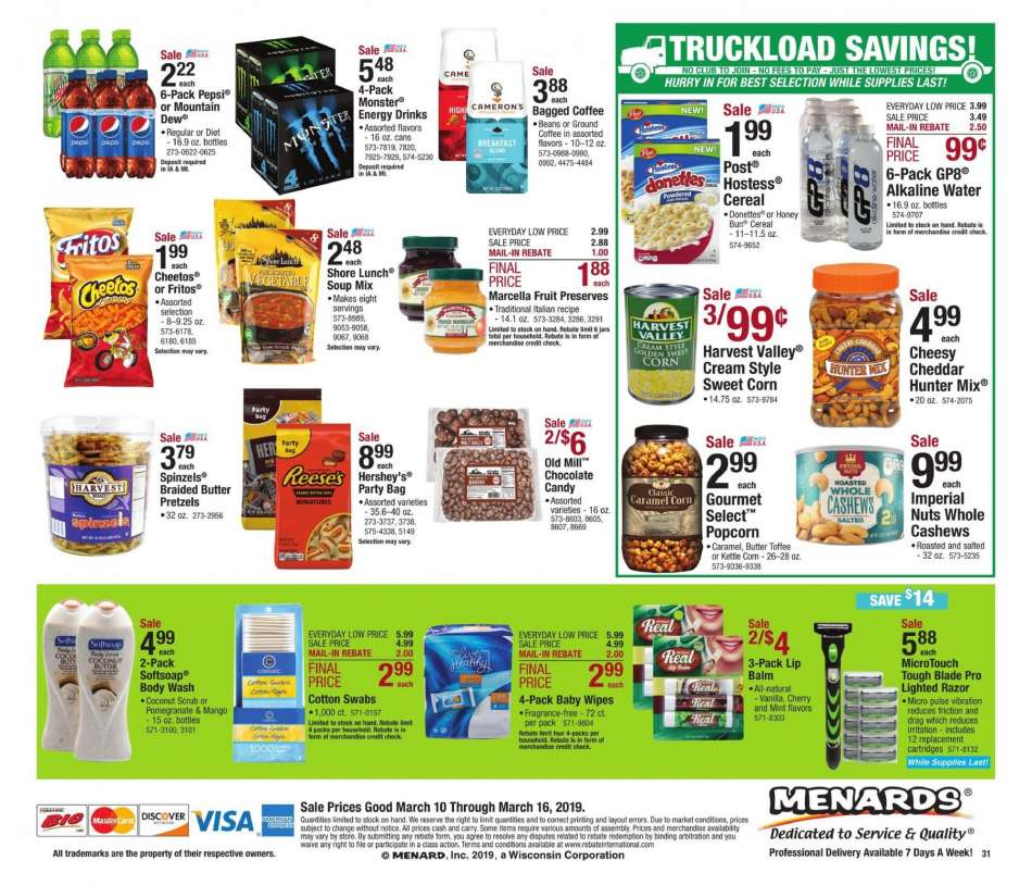Menards Flyer 03 10 2019 03 16 2019 Weekly Ads Us