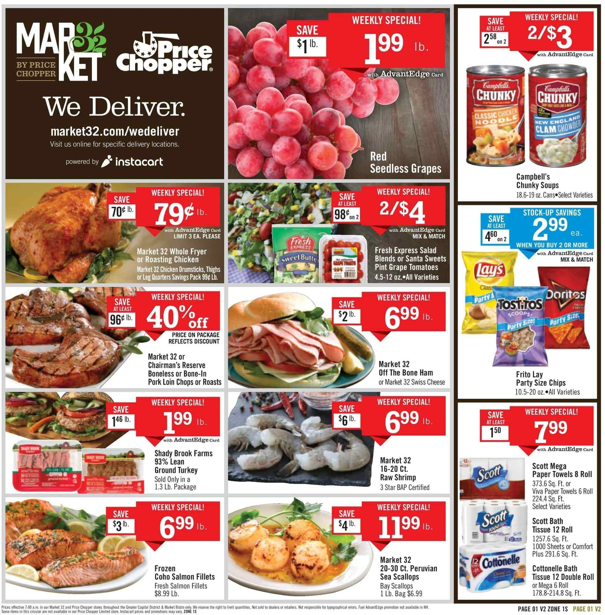 Price Chopper Flyer  - 03.10.2019 - 03.16.2019. Page 1.