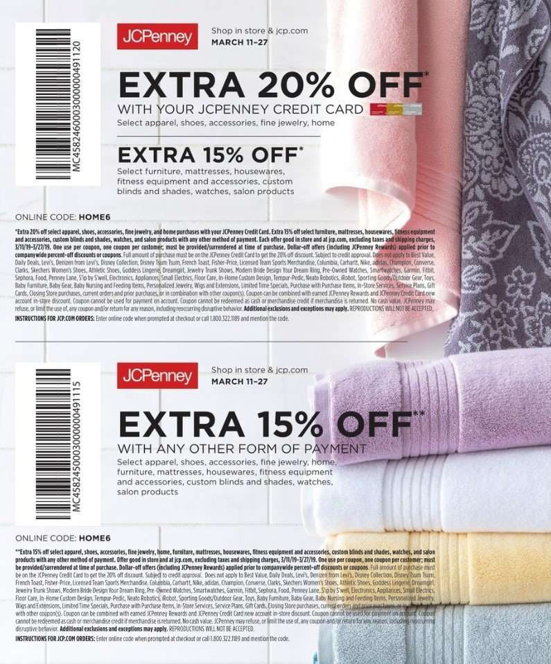 timeless design 41f31 8e534 Current JCPenney ad - 03.11.2019 - 03.27.2019 - NO LONGER VALID