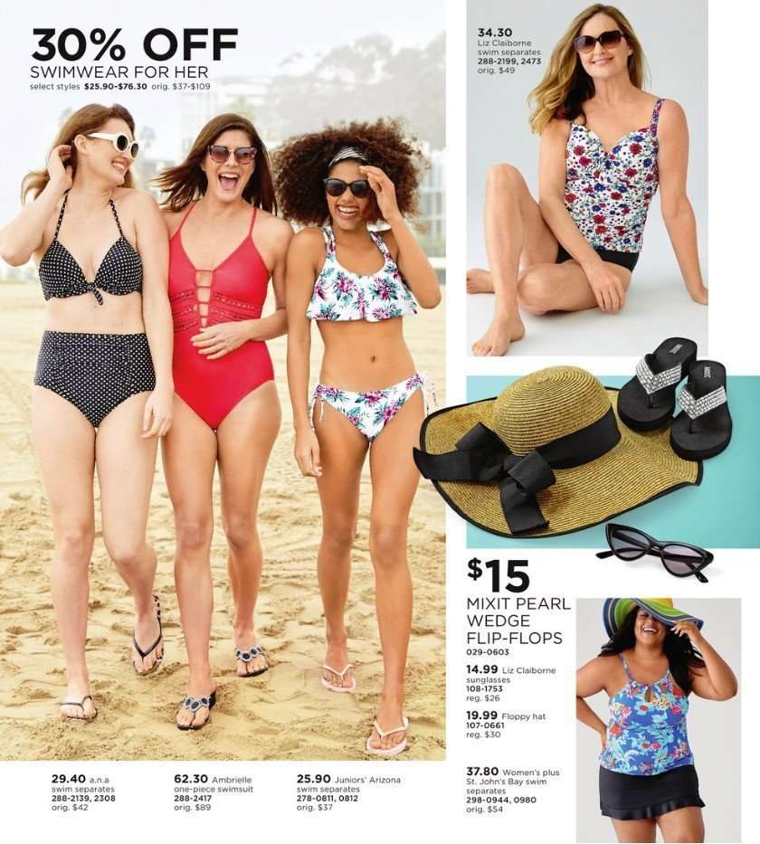 f40540602d9 JCPenney Flyer - 03.11.2019 - 03.24.2019 - Sales products - sunglasses