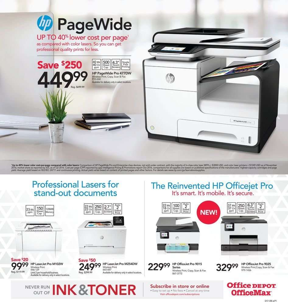 Office DEPOT flyer 03 17 2019 - 03 23 2019 | Weekly-ads us
