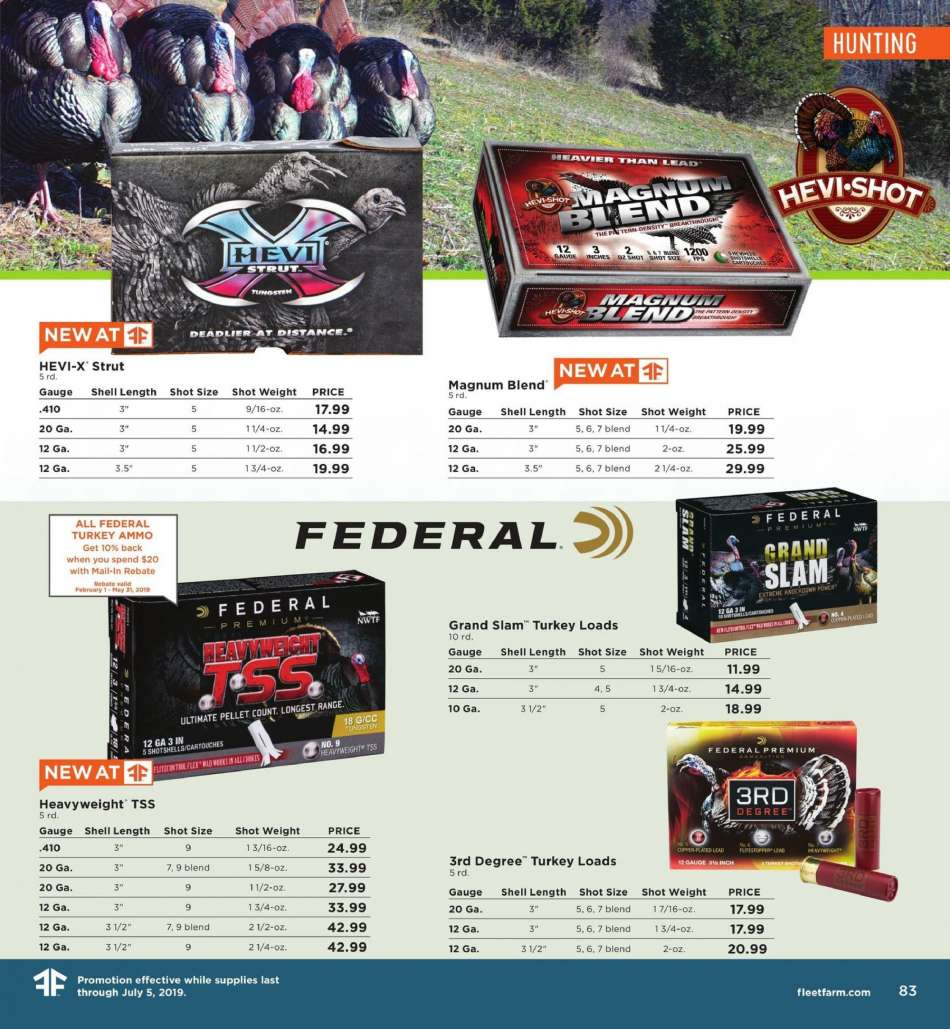 Fleet Farm flyer 03 15 2019 - 07 05 2019 | Weekly-ads us
