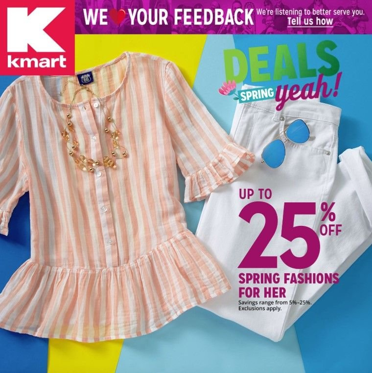 Kmart Flyer  - 03.17.2019 - 03.30.2019. Page 1.