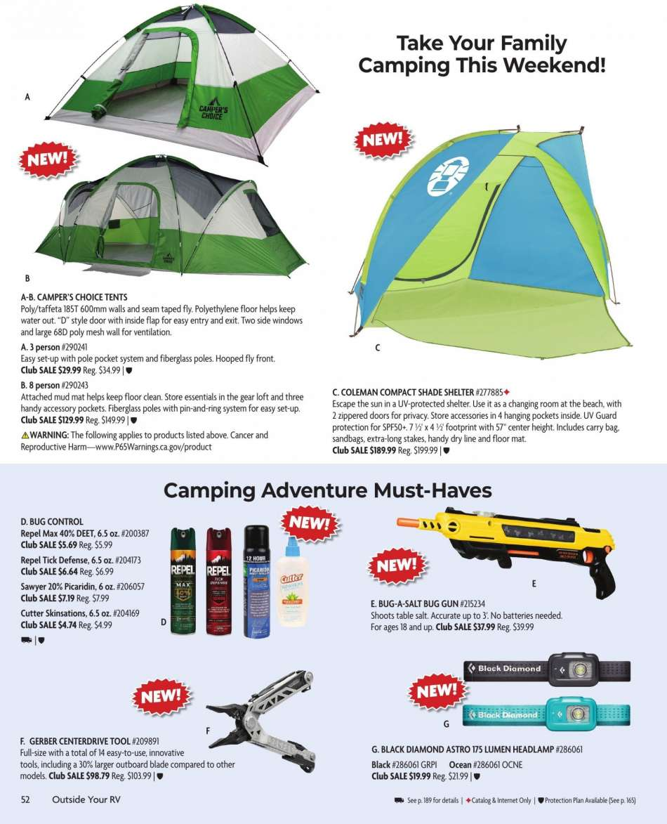 Camping World flyer 03 18 2019 - 05 12 2019 | Weekly-ads us