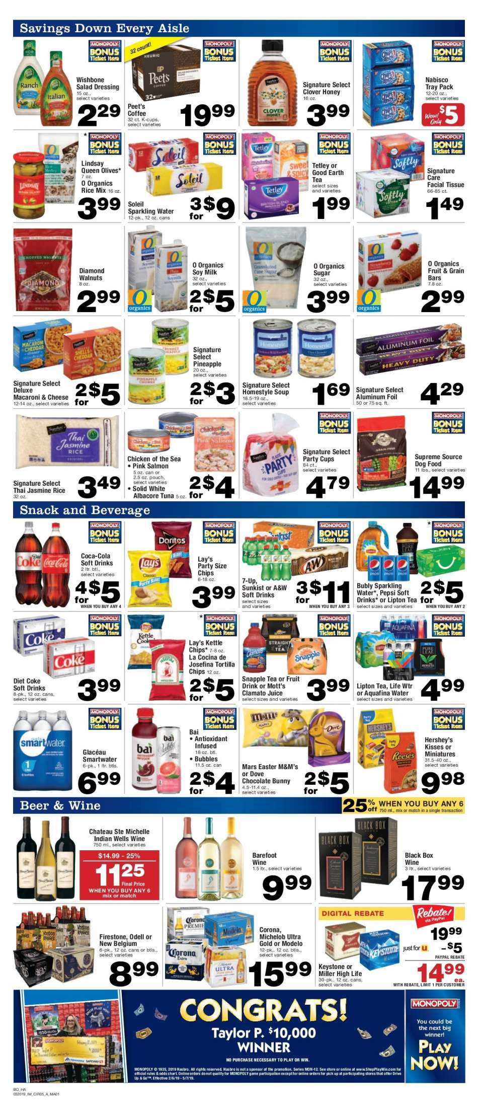 Albertsons flyer 03 20 2019 - 03 26 2019 | Weekly-ads us