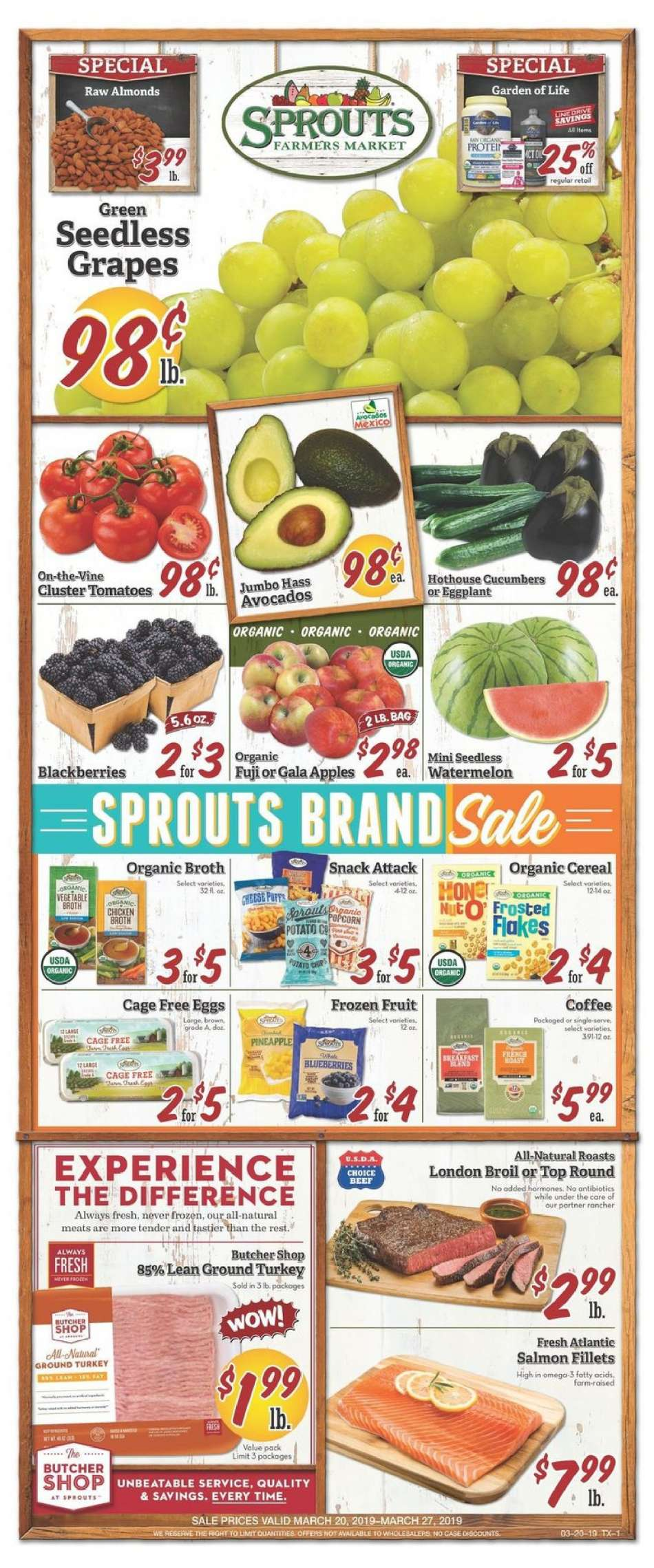 Sprouts flyer 03 20 2019 - 03 27 2019   Weekly-ads us