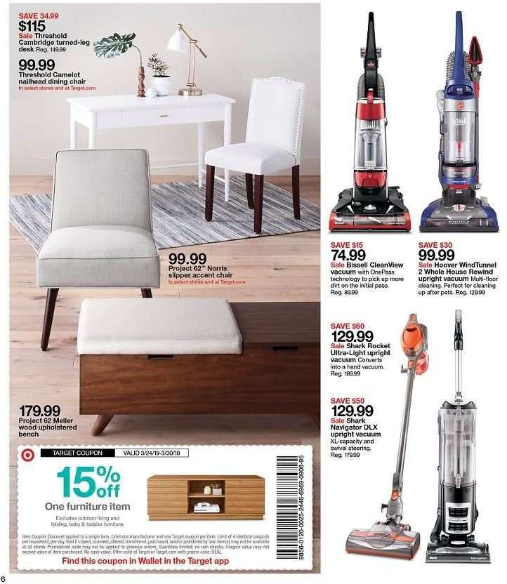 Amazing Target Flyer 03 24 2019 03 30 2019 Weekly Ads Us Andrewgaddart Wooden Chair Designs For Living Room Andrewgaddartcom