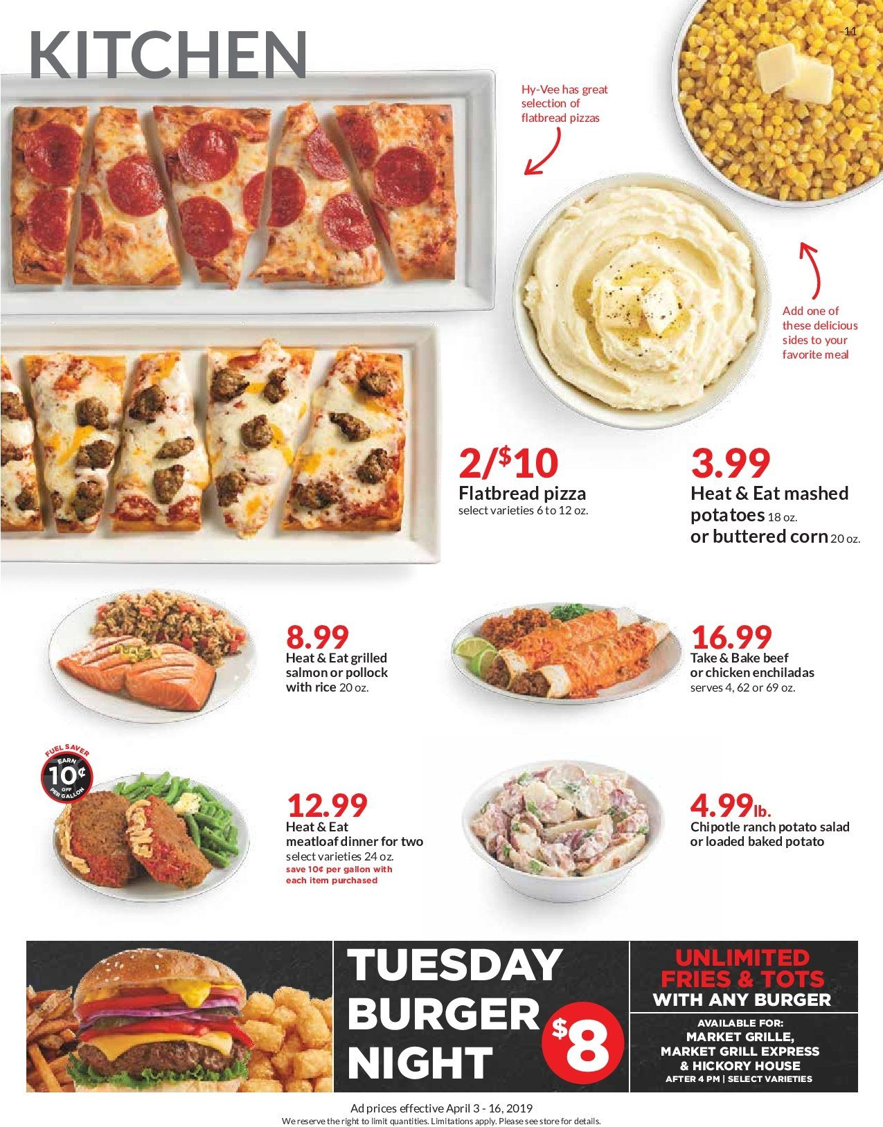 Hy Vee Flyer 04 03 2019 04 16 2019 Page 11 Weekly Ads