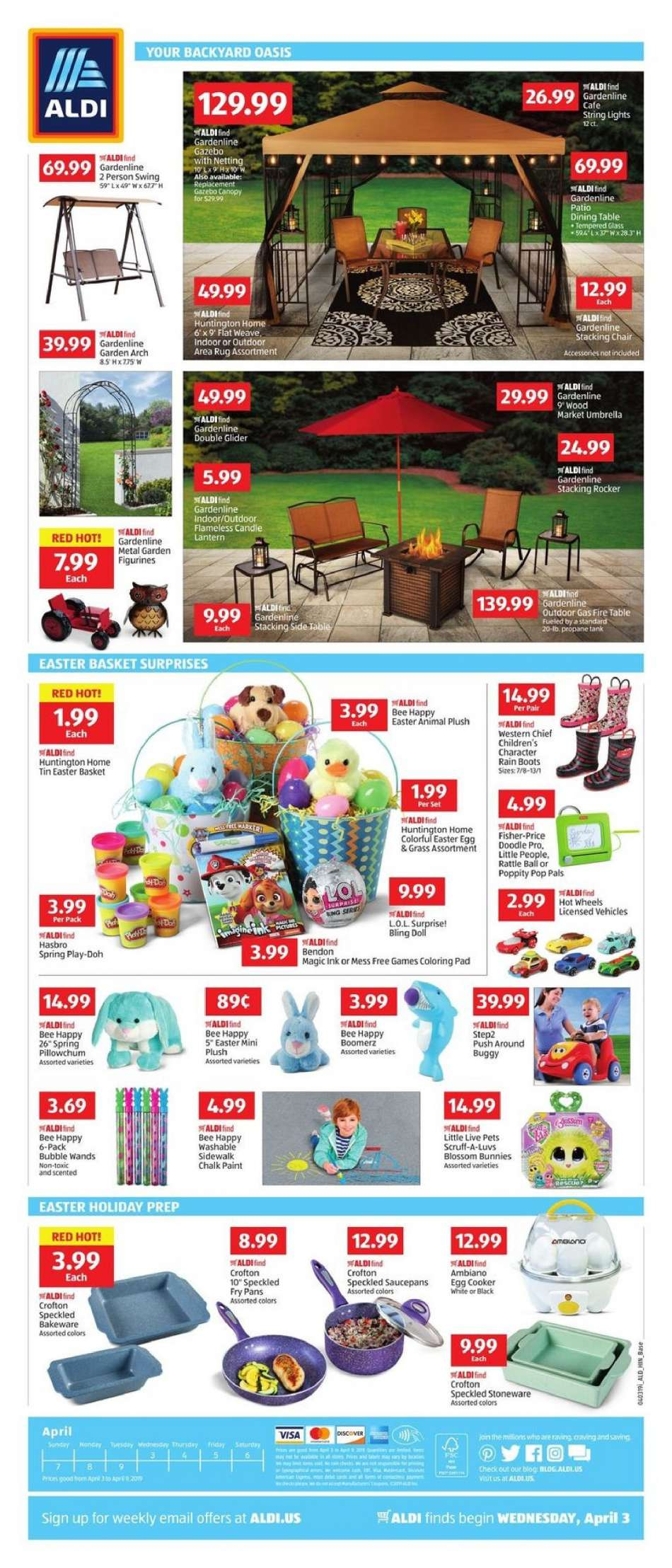 Terrific Aldi Flyer 04 03 2019 04 09 2019 Weekly Ads Us Bralicious Painted Fabric Chair Ideas Braliciousco