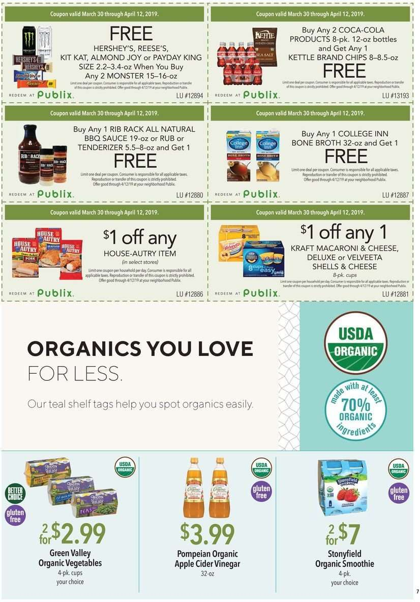 Publix Flyer 03302019 04122019 Weekly Adsus