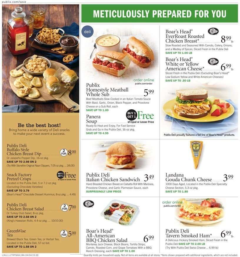 Publix flyer 04 04 2019 - 04 10 2019   Weekly-ads us