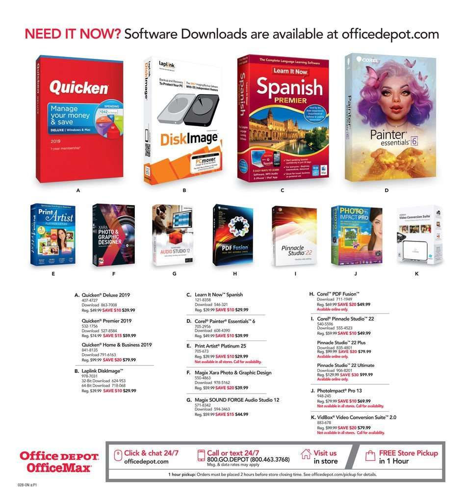 Office DEPOT flyer 04 07 2019 - 04 13 2019 | Weekly-ads us