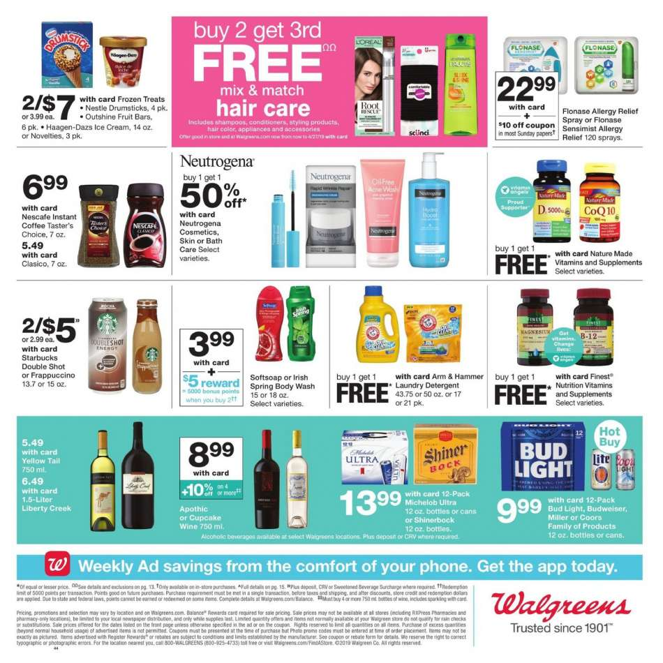 Walgreens flyer 04 07 2019 - 04 13 2019 | Weekly-ads us