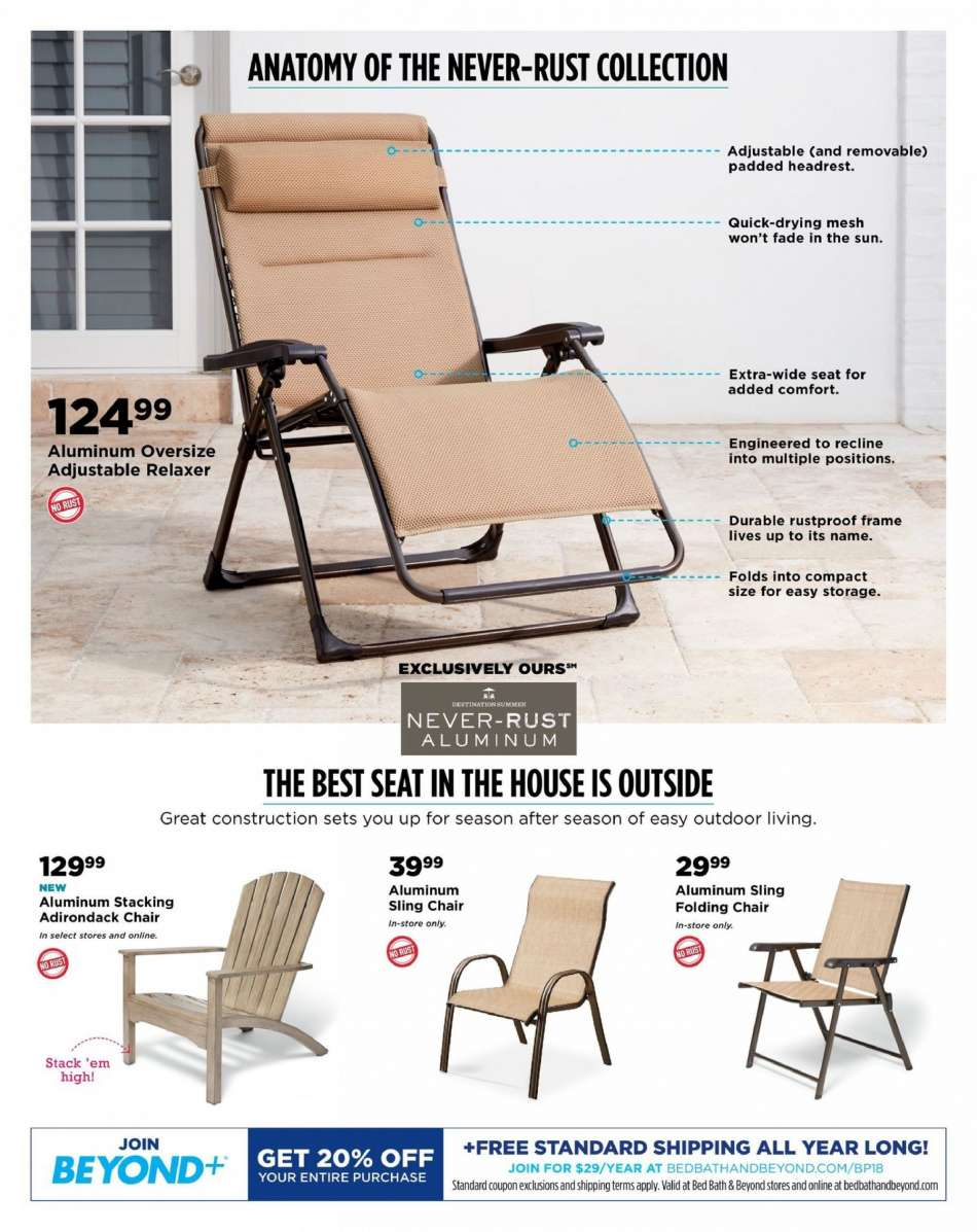 Excellent Bed Bath Beyond Flyer 04 05 2019 05 13 2019 Weekly Ads Us Gmtry Best Dining Table And Chair Ideas Images Gmtryco