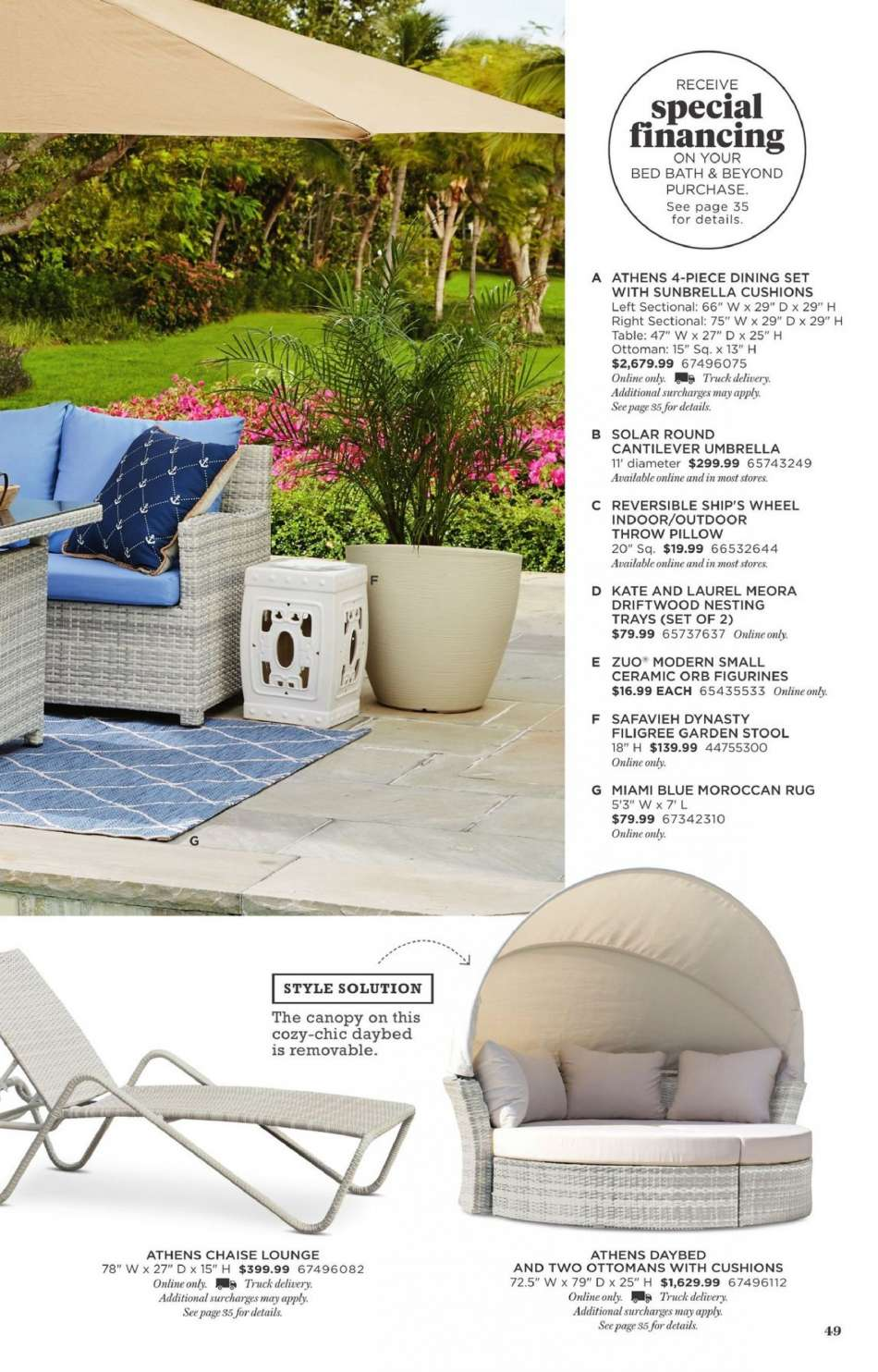 Strange Bed Bath Beyond Flyer 03 08 2019 04 30 2019 Weekly Ads Us Gmtry Best Dining Table And Chair Ideas Images Gmtryco