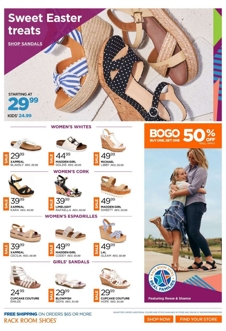 7128abd40 Rack Room Shoes Flyer - 04.10.2019 - 04.23.2019 - Sales products -