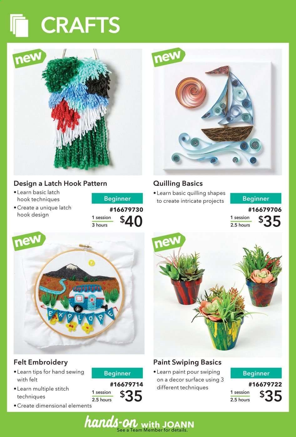 JOANN flyer 03 29 2019 - 06 30 2019 | Weekly-ads us