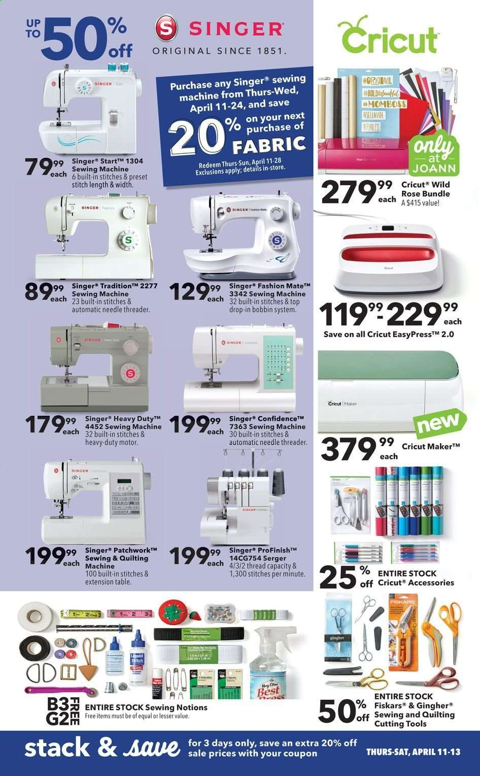 JOANN flyer 04 11 2019 - 04 24 2019 | Weekly-ads us