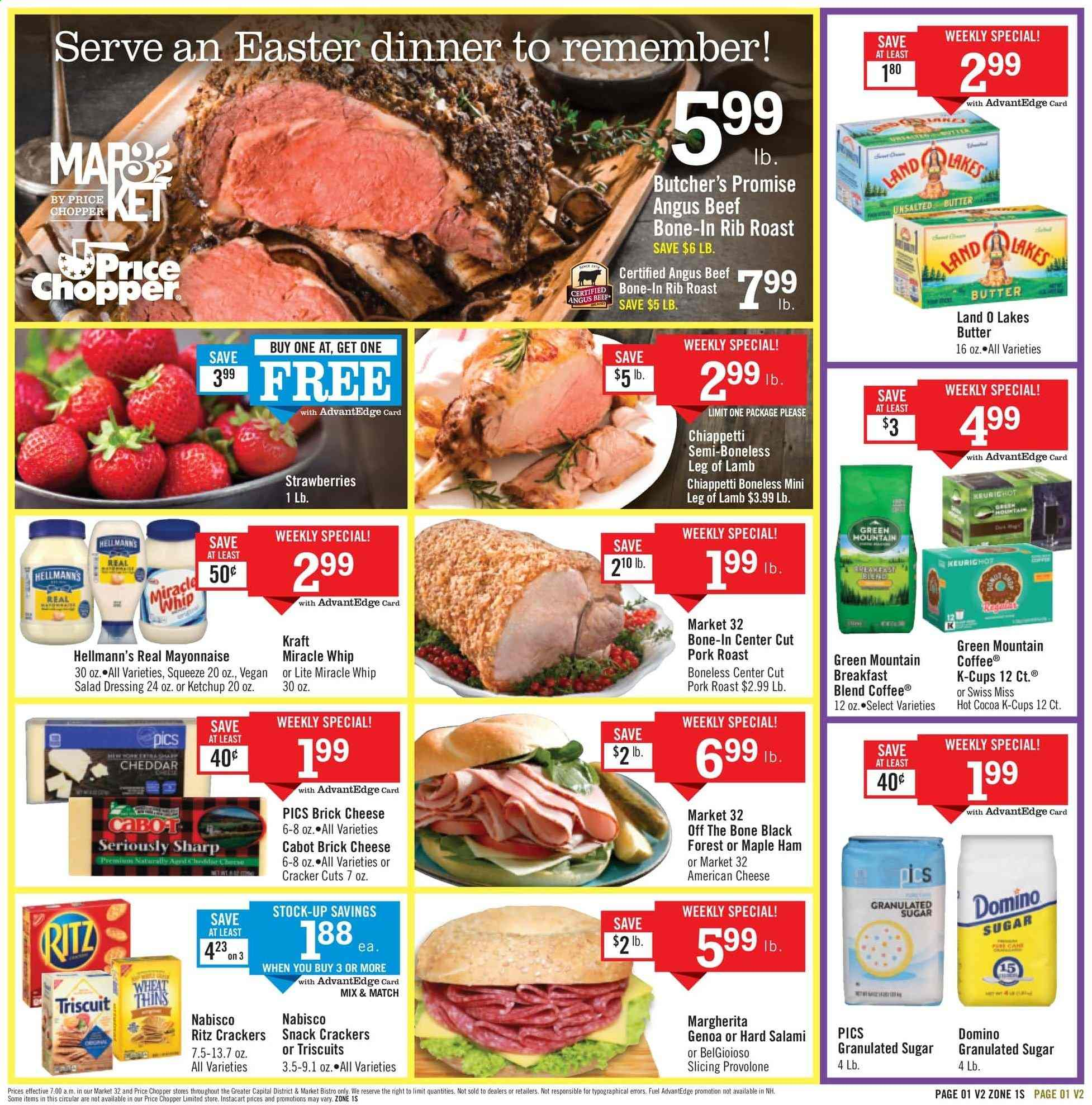 Price Chopper Flyer  - 04.14.2019 - 04.20.2019. Page 1.